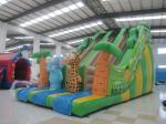 10×5 Meter Inflatable Dry Slide Cute animal Inflatable Slide