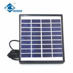9V 1.5W high quality new standard solar panel ZW-1.5W-9V Mini Glass Laminated Solar Panels