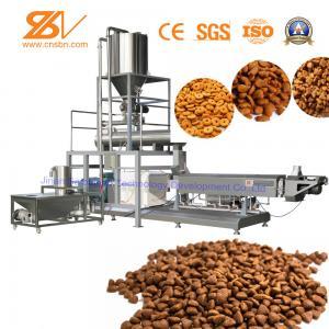 China Animal Dog Food Machine Dry Pet Food Production Line CE Certification on sale