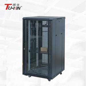 China High Strength Locking Network Cabinet Server Rack IP20 For Electric Industry on sale