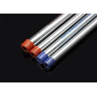 BS 4568 / BS 31  Conduit Hot Dip Galvanized Conduit Pipe with screwed ends and caps   /