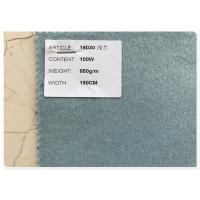 Blue Series 100% Double Faced Wool Fabric 720 Gram Per Meter For Women