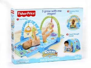 China Fisher-Price Fisher tap crawling carpet game pad on sale