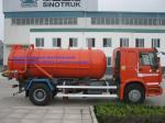 Self Dumping Sanitation Garbage Truck Sinotruk Howo 4x2 336hp 6M3 With Front Lifting For City Cleaning