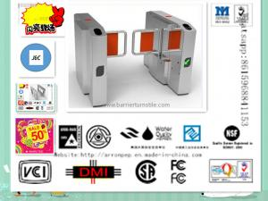 China Wide Lane Automatic Swing Gate Turnstile With Magnetic Cards , IC / ID Card Reader on sale