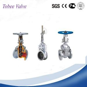China Tobee™Ductile Iron /Cast iron Metal Seated Gate Valve on sale