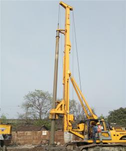 China 18mm Rope Diameter Rotary Foundation Drilling Equipment Concrete Pile Machine FD168A on sale