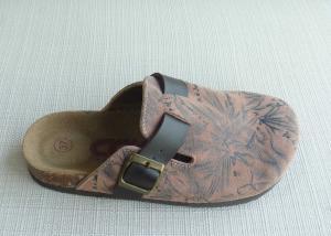 China Únicos deslizadores para mujer del corcho, moda del verano del tamaño 36-41 cómoda supplier