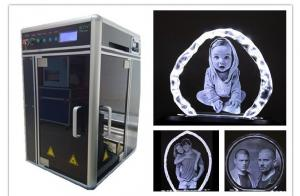 China 2D 3D Crystal Subsurface Engraving Machine for Personalized Car Model on sale