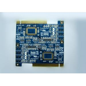 China Gold Finger OSP 6 Layer Rigid PCB Board for Electronic Communication on sale