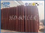 Heat Exchange Steam Boiler Economizer , Carbon Steel Type H Finned Tube Economizer ASME Standard