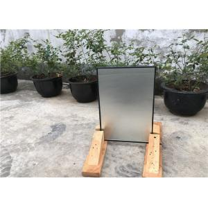 China 16 Mm Hollow Glass Window Panels With Lower HVAC Costs , Protects Privacy on sale