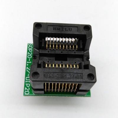 Socket Converter Convert SOP20//SO20//SOIC20 to DIP20 Programmer Adapter