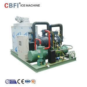 Quality 25 Hp Semi Hermetic Compressor Flake Ice Machine -5℃ ice temp 5 ton / day for sale