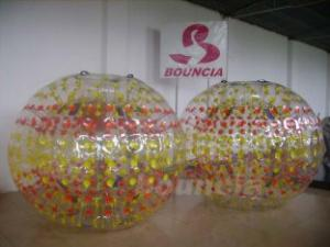 Quality 0.8mm PVC Inflatable Zorb Ball For Children Or Adult for sale