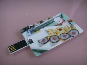China Forme memoria USB de la tarjeta de crédito, palillos plásticos del crédito USB, unidad USB on sale