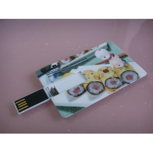 China Commande d'instantané d'USB de carte de crédit de mode, bâtons en plastique d'USB de crédit, commande d'USB on sale