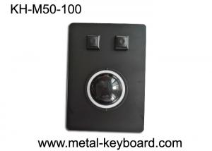 China Marine Control Tracking mouse with Black Metal Panel and 50MM Resin Trackball industrial on sale