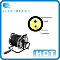 4 core single mode outdoor fiber optic cable Tactical optical fiber optic cable