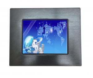 China 10 Point Multi Touch Panel PC Passive Cooled DC 9V-40v For Rack Mount Devices on sale