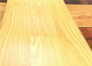 China Oak Laminate Flooring Soundproof Floating Laminate flooring 8724 crystal surface browncore on sale