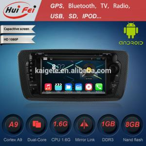 China vcd dvd radio mp3/mp4 player ipod car gps dvd player for seat lbiza android car dvd for seat on sale