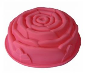 China flower-shaped Silicone cake mold on sale