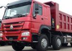 Big Loading Weight SINOTRUK HOWO 31Tons 8x4 336HP Dump Truck
