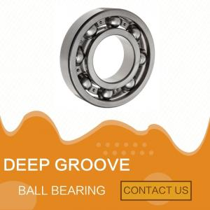 China DEEP GROOVE BALL BEARING, HIGH SPEED,  SMALL FRICTION, USED IN MACHINERY INDUSTRY on sale