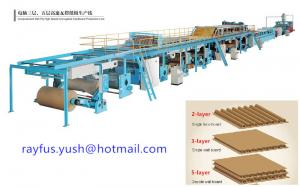 China 3 5 7 Layer Corrugated Carton Box Making Machine Various Flute Low Medium High Speed on sale