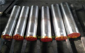 China 34CrNiMo6 Hot Forged Steel Round Bar Alloy Steel  Quenching And Tempering  Rough Turned on sale