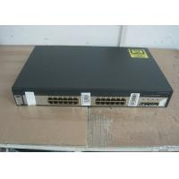 4 SFP Ports Uplink Used Cisco 3750 Switch , Second Hand Cisco Equipment Catalyst