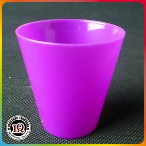 China Colored Plastic Shot Small glass on sale