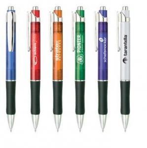 China Slim Silver Click Pen - MP001 on sale