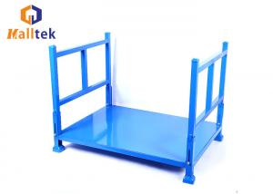 China Heavy Duty 2000kg Storage Foldable Stackable Pallet Racks on sale