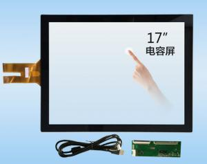 China 10.4 To 65 Inch G+G / G+FF Projected Capacitive Touch Screen Panel with USB interface on sale