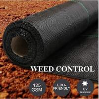 China PP ground cover,weed barrier Fabrics, weed mat in strawberry garden, Agricultural weed control pp woven grass mat, 70gsm on sale