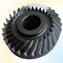 China Bevel gear big size to 8 meter diameter as custmer drawing left or right, spiral bevel driving gear on sale