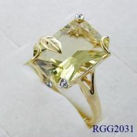 10k Gold Semi-Precious Stone (RGG2031)