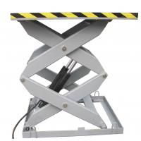 5M Hydraulic Stationary Scissor Lift Table 3000Kg Loading Capacity For Workshop