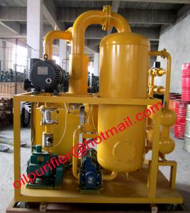 China Most popular high vacuum transformer oil purifier machine,dielectric oil cleaning process on sale