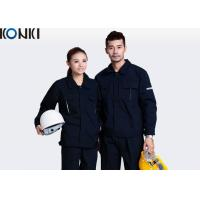 Anti - Pilling Seaman Custom Work Uniform Long Sleeve Waterproof Workwear