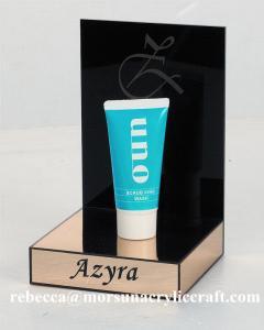 China Custom acrylic perfume display stand acrylic perfume stand on sale