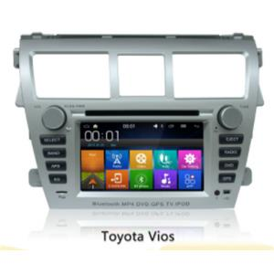 China 6.2 Inch 2 Din Android Car Navigation Dvd Player For Toyota Vios , Multi Language on sale