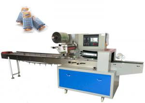 China Garlic Automatic Bread Packing Machine CE SGS Certificate Carbon Steel Body on sale