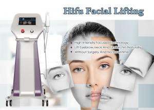 China Wrinkle Removal HIFU Facelift Machine / Hifu Beauty Machine 12 Months Warranty on sale