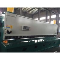 China Width Full Automatic Hydraulic  Guillotine Shearing Machine For Steel Plate 2500 mm on sale