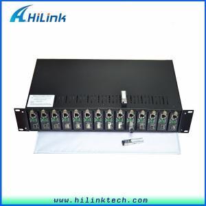 China 10/100/1000M Ethernet Rack Mount Media Converter HL- Media Converter on sale