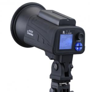 China X-808 Series Studio flash light with Battery compartment, single lamp holder, 550 battery on sale