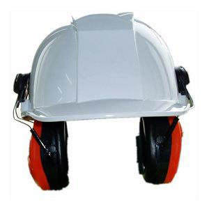 China Work Helmets / Safety Head Protection Construction Helmet with Earmuff on sale